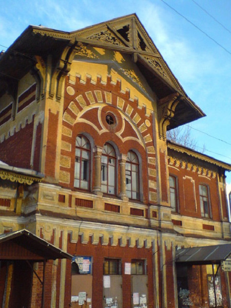 "Ж/д станция ""Можайская"". Фото: Sergey539 (Wikimedia Common)"