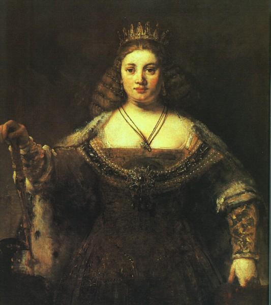 Рембрандт. Юнона, источник фото: Wikimedia Commons, User: JarektUploadBot