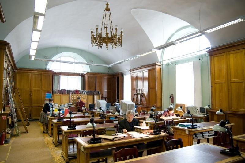 РНБ. Отдел рукописей. Фото: Уршула-Хелена Кузьма