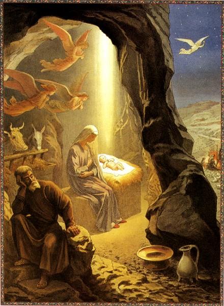 Рождество Христово, источник фото: https://mirvokryg.wordpress.com/2013/01/09/istoriya-prazdnovaniya-rogdestva/