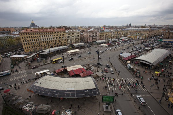 Сенная площадь. Вид сверху. Антон Ваганов wikimedia