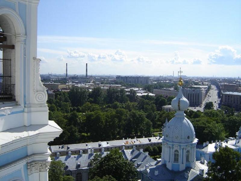 Смольный собор. Звонница. Санкт-Петербург