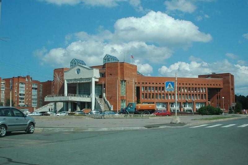 Город Сосновый Бор в Ленинградской области. Фото: demonzak (Wikimedia Commons)