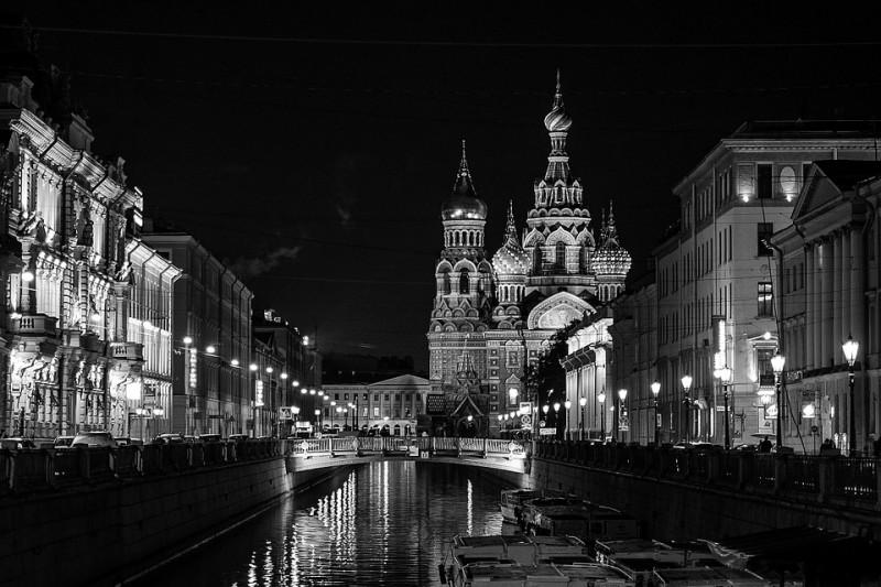 Ночной Петербург. Автор фото: MariaShvedova