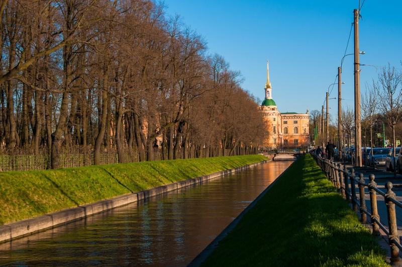 Санкт-Петербург. Канал. Михайловский Замок. Фото: pixabay.com