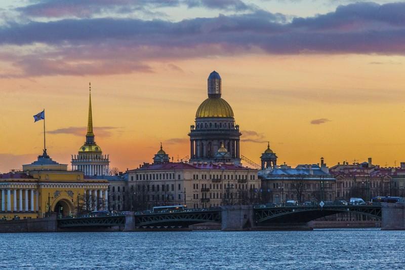 Санкт-Петербург. Прогулка. Город. Вечер. Красота.