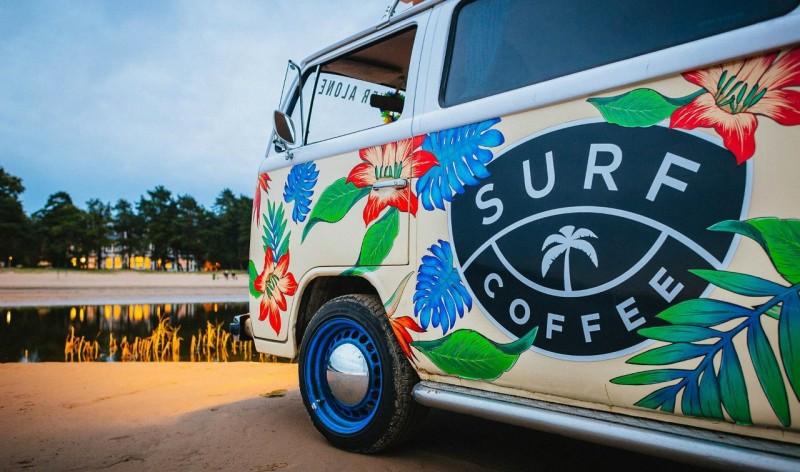 Surf Coffee St. Petersburg SURFVAN Фото: Anastasia Sullivan