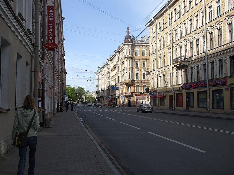Суворовский проспект в Санкт-Петербурге, источник фото: Wikimedia Commons, Автор: Lvova Anastasiya