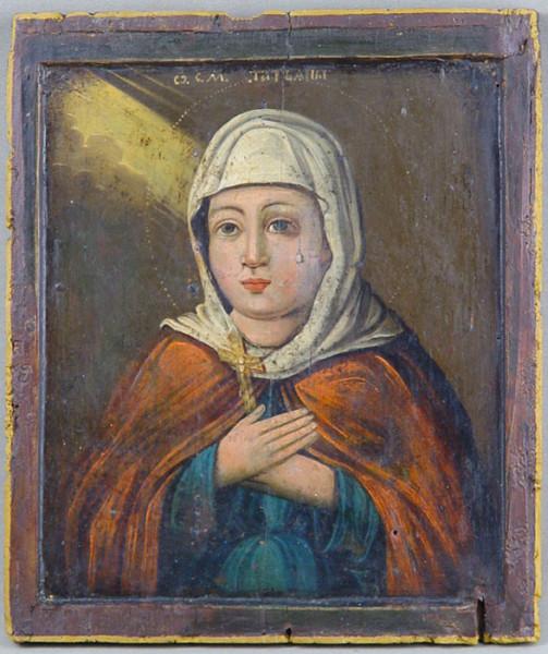 """Икона """"Святая Муч.Татьяна"""", начало XIX в. Источник: Wikimedia Commons"""