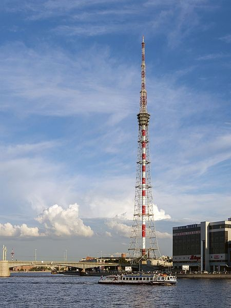 Санкт-петербургская телебашня, источник фото: Wikimedia Commons, Автор: Florstein