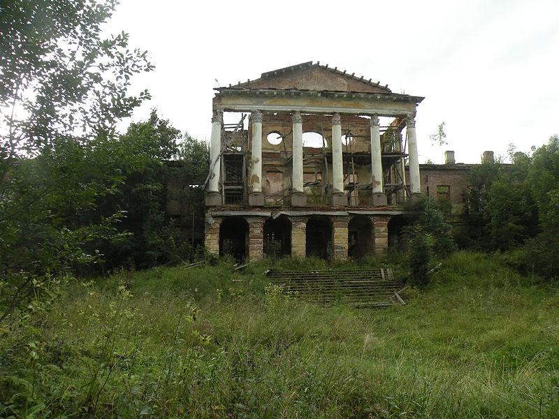 UNESCO World Heritage Site - Palace in Ropsha, источник фото: Wikimedia Commons Автор: Vitold Muratov