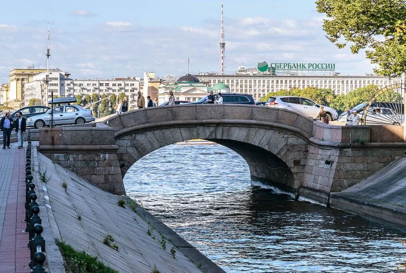 Верхний Лебяжий мост. Автор: Florstein, Wikimedia Commons