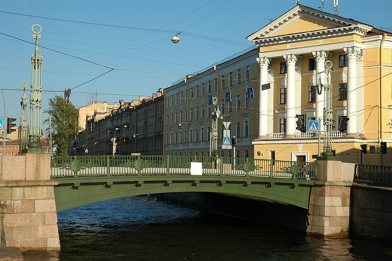Вознесенский мост, источник фото: Wikimedia Commons, Автор: Alexei Kouprianov