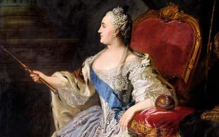 Ф. С. Рокотов. Портрет Екатерины II, Третьяковская галерея, в Москве, 1763 г. (Wikimedia Commons)