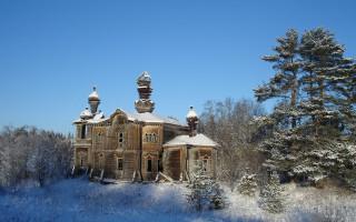 Церковь Елисея Угодника в деревне Верхние Мандроги