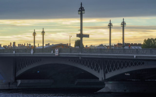 Благовещенский мост. Фото: vk.com/mostotrestspb