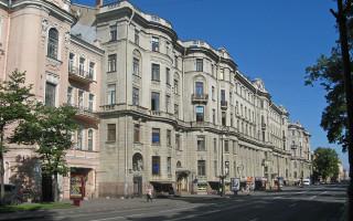 Дом Бенуа в Петербурге. Фото: Екатерина Борисова (Wikimedia Commons)