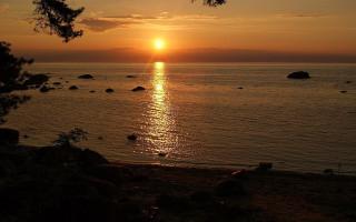 Финский залив, мыс Колганпя. Фото: Кекина Елена Константиновна