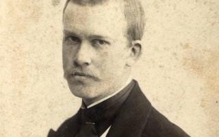 Фотопортрет Бориса Кустодиева, 1900 г. Фото: В. Сергеев (Wikimedia Commons)