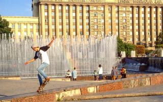 Фонтаны на Московской площади. Фото: Elena IloveSpb