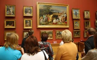 Картины А. Иванова в экспозиции Русского музея. Фото: Antonleto   (Wikimedia Commons)