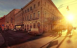 Рассвет на Невском проспекте. Фото: photogeek.ru