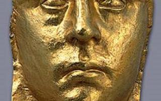 Золотая маска из Керчи. Фото: открытаяархеология.рф