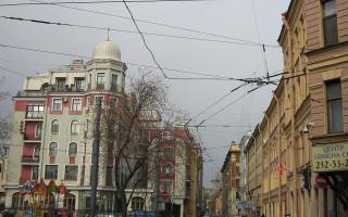 Начало Бармалеевой улицы в Санкт-Петербурге. Фото: Potekhin (Wikimedia Commons)