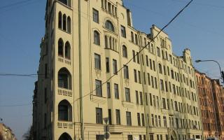 Дом Эрлиха. Слева — перспектива ул. Ленина. Фото: citywalls.ru