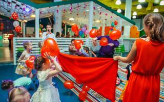 Прыг-Скок детский развлекательный центр, ресторан