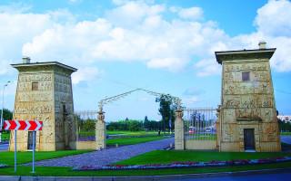 Египетские ворота. Фото: Ruffery (Wikimedia Commons)