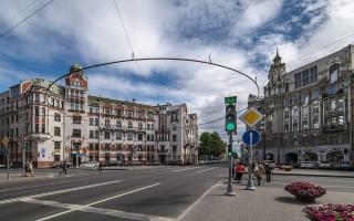Австрийская площадь в Санкт-Петербурге. Фото: Florstein   (WikiPhotoSpace)