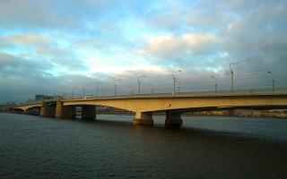 Мост Александра Невского. Фото: Alexander Patrikeev (Wikimedia Commons)