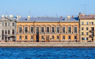 Английская набережная в Санкт-Петербурге, особняк П. П. Дурново. Фото: Florstein (WikiPhotoSpace)