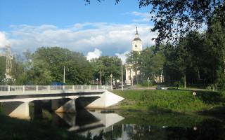 Ильинский сад в Санкт-Петербурге. Фото: Sailornord (Wikimedia Commons)