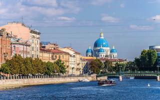 Набережная реки Фонтанки в Петербурге. Фото: Florstein (WikiPhotoSpace)