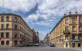 Санкт-Петербург: Колокольная улица. Фото: Florstein (WikiPhotoSpace)
