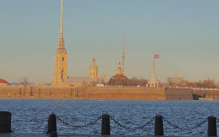 Петропавловская крепость. Фото: angelius1979 (Wikimedia Commons)