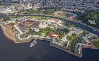 Петропавловская крепость. Фото: Godot13