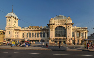 Витебский вокзал в Санкт-Петербурге. Фото: Florstein (WikiPhotoSpace)