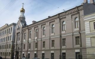Церковь преподобного мученика Андрея Критского. Автор: Peterburg23, Wikimedia Commons