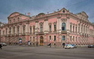 Дворец Белосельских-Белозерских. Author: George Shuklin Wikipedia Commons