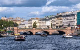 Аничков мост. Фото: Florstein (WikiPhotoSpace)