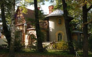 Дача Гаусвальд Е. К. в Петербурге. Фото: Myope ann (Wikimedia Commons)