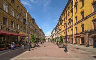 Малая Садовая улица. Фото: Florstein (WikiPhotoSpace)