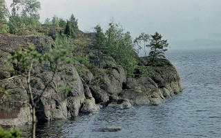 Скалы на о. Патасаари. Автор фото: Vitold Muratov (Wikimedia Commons)