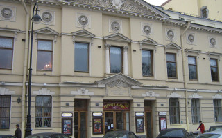 Санкт-Петербургский театр музыкальной комедии. Фото: Peterburg23 (Wikimedia Commons)