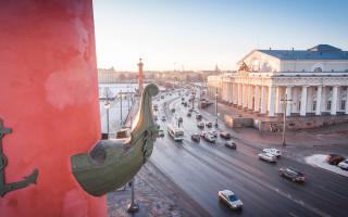 Набережная Стрелки Васильевского острова. Фото: mostotrest-spb.ru