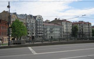 Набережная Карповки у моста Силина. Фото: vk.com/clubfarmisl