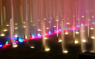 Популярные фонтаны города на Неве — светомузыкальные и поющие фонтаны Петербурга